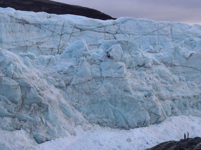 Energy Crossroads Denmark. Kangerlussuaq Russell Glacier